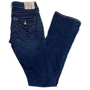 True Religion Becky Fit Pearl Pocket Bootcut Jeans
